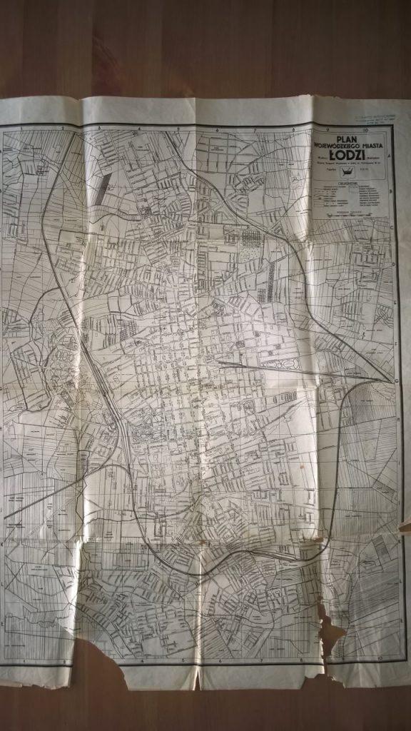 plan Łodzi 1930